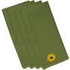 e by design Sunflower Power Flower Print Napkin