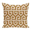 e by design Keyed Up Geometric Print Floor  Pillow