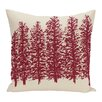 e by design Through the Woods Flower Print Floor  Pillow