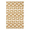 e by design Keyed Up Geometric Print Throw Blanket