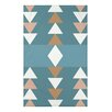 e by design Sagebrush Geometric Print Throw Blanket