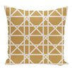 e by design Trellis Geometric Print Floor  Pillow