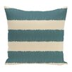 e by design Twisted Stripe Stripe Print Throw Pillow