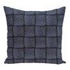 e by design Basketweave Geometric Print Floor Throw Pillow