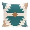 e by design Mesa Geometric Print Throw Pillow