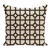 e by design Don't Fret Geometric Print Throw Pillow