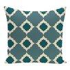 e by design Medina Geometric Print Floor Throw Pillow