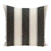 e by design Striate Stripe Stripe Print Floor Throw Pillow