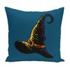 e by design Witchcraft Holiday Print Throw Pillow