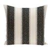 e by design Striate Stripe Stripe Print Throw Pillow