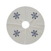 e by design Vail Snowflake Tree Skirt