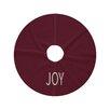 e by design Joy Filled Season Tree Skirt