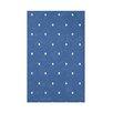 e by design Hang Ten Dorothy Dot Geometric Throw Blanket