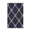 e by design Nautical Nights Ahoy! Geometric Throw Blanket