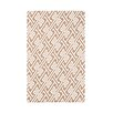 e by design Nautical Nights Leeward Key Geometric Throw Blanket