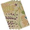 e by design Botanical Blooms Botanical Floral Napkin (Set of 4)