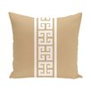 e by design Nautical Nights Key Stripe Stripe Outdoor Throw Pillow