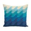 e by design Hang Ten Deep Sea Geometric Throw Pillow