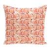 e by design Beach Vacation Fishwich Animal Throw Pillow