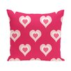 e by design Valentine's Day Throw Pillow