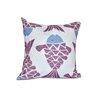 e by design Beach Vacation Big Fish Animal Outdoor Throw Pillow