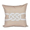 e by design Nautical Nights Carrick Bend Geometric Throw Pillow