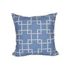 e by design Botanical Blooms Bamboo 1 Geometric Throw Pillow