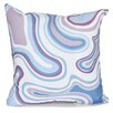 e by design Beach Vacation Agate Geometric Throw Pillow