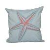 e by design Decorative Starfish Throw Pillow