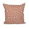 e by design Geometric Foam Throw Pillow