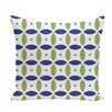 e by design Beach Ball Geometric Print Throw Pillow