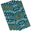 e by design HH Revival Illuminate Print Napkin (Set of 4)