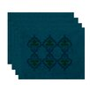 e by design HH Revival Ananda Print Placemat (Set of 4)
