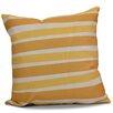 e by design Hanukkah 2016 Decorative Holiday Striped Euro Pillow
