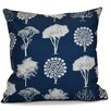 e by design Flipping for Fall Field of Trees Floral Euro Pillow