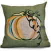 e by design Flipping for Fall Pumpkin Fest Geometric Euro Pillow