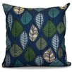 e by design Flipping for Fall Leaves Floral Throw Pillow