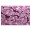e by design Flipping for Fall Purple Indoor/Outdoor Area Rug
