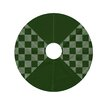e by design Jump for Joy Check It Twice Geometric Print Tree Skirt
