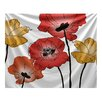 e by design Flora and Fauna Poppies Tapestry
