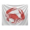 e by design Beach Vacation Crab Tapestry