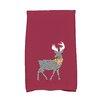 e by design Jump for Joy Merry Deer Hand Towel