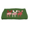 e by design Jump for Joy Merry Moose Bath Towel