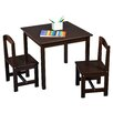 TMS Hayden Kids 3 Piece Square Table & Chair Set