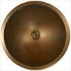 Linkasink Bronze Large Round Smooth Bathroom Sink