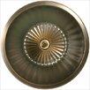 Linkasink Bronze Round Flat Bottom Fluted Bathroom Sink