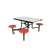 AmTab Manufacturing Corporation 48'' Square Cafeteria Table