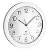TFA Dostmann Tic Tac 30cm Analogue Radio Controlled Wall Clock