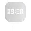 TFA Dostmann Futuristic 24cm Digital Wall Clock