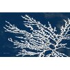 Thumbprintz Coastal Coral Blue Area Rug